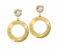 Speechless Jewelry New! Earrings - Dream Believe Achieve - Gold Colored