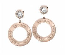 Speechless Jewelry Ohrringe - Dream Believe Erreichen - Rosé Vergoldung