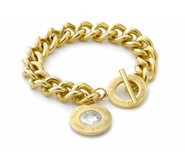 Speechless Jewelry Armband - Immer Follow Your Heart - Gelb Gold-Plating