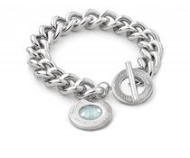 Speechless Jewelry Bracelet - Always follow your heart - Silver Colored