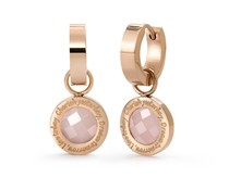 Speechless Jewelry Earrings - Cherish yesterday, dream tomorrow, live today - Rosé Colored