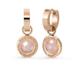 Speechless Jewelry Oorbellen - Cherish yesterday, dream tomorrow, live today - Verguld rosékleurig