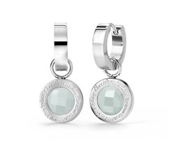 Speechless Jewelry Earrings - Cherish yesterday, dream tomorrow, live today - Silver Colored
