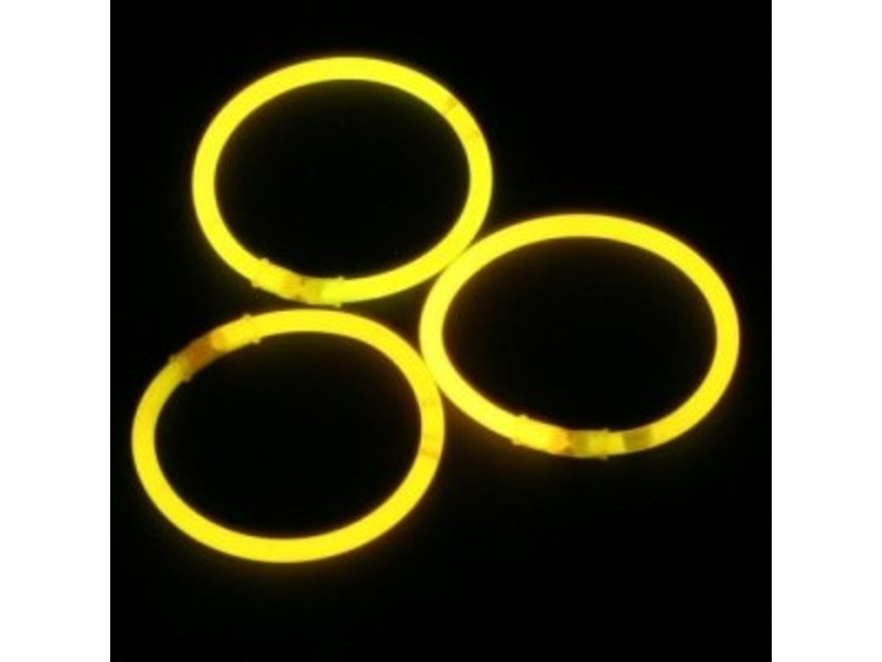 Breaklight Yellow glow bracelets
