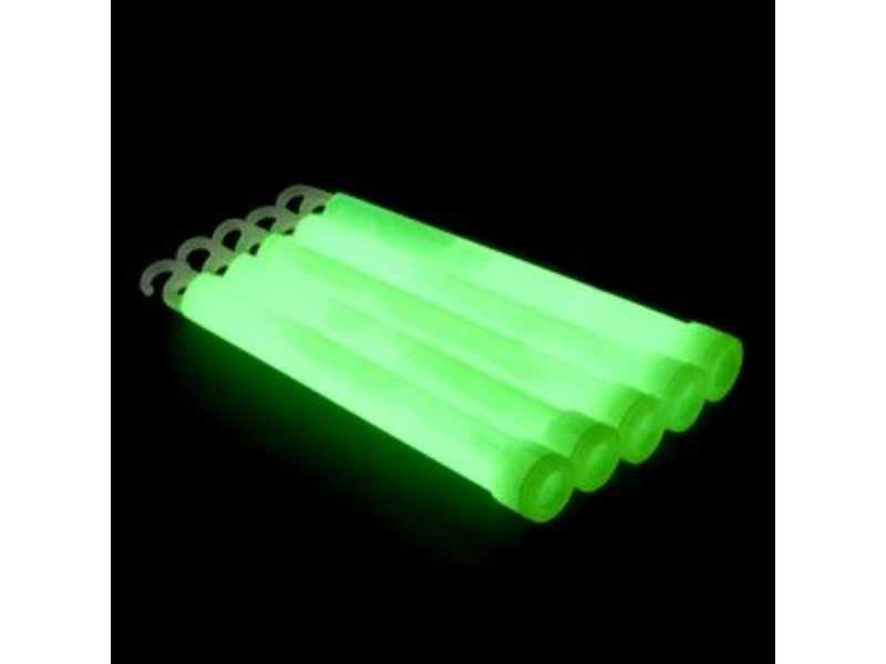 "Breaklight 6"" Batons Lumineux Verts"