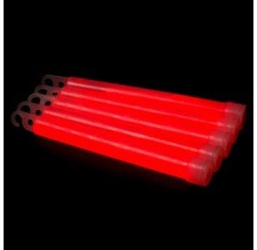 "Breaklight 6"" Batons Lumineux Rouges"