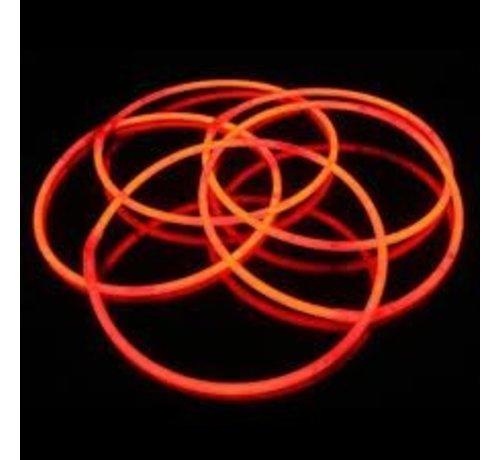 """Breaklight 22"""" Glow Halskettingen Rood"""