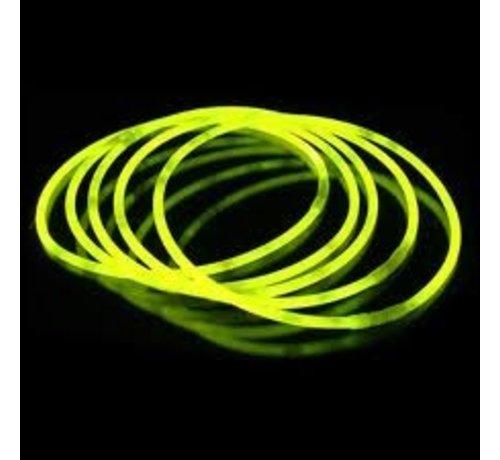 "Breaklight 22"" Glow Necklaces Yellow"