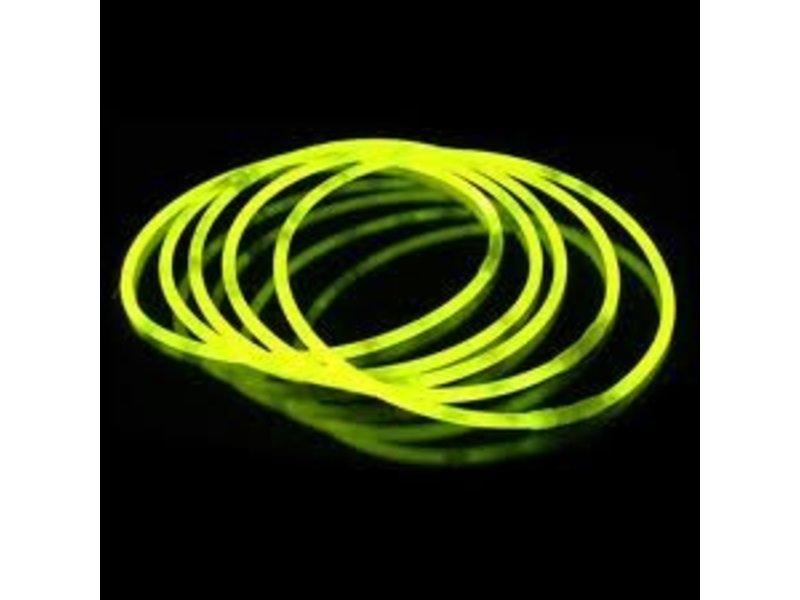 """Breaklight 22"""" Glow Halskettingen Geel"""