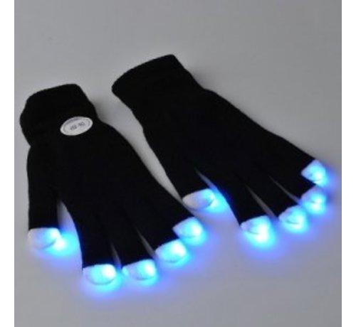 Breaklight Paire de gants lumineux LED -- Noir