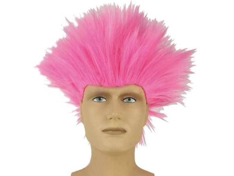 Wig Electric Shock pink