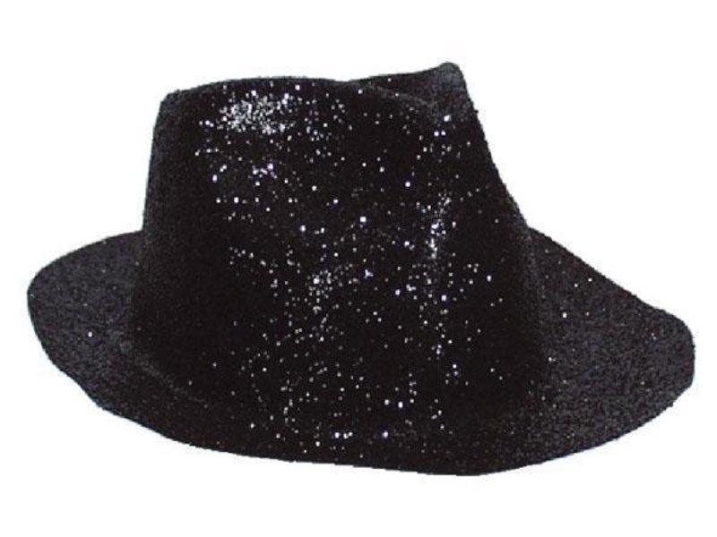 Chapeau Borsalino Plastique Brillant Noir