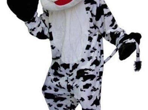 Costume Peluche vache Big