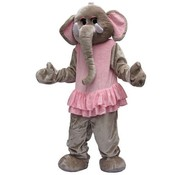 Costume Peluche elephant Big