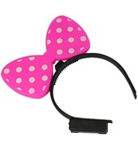 Breaklight Led Flashy Pink Bow