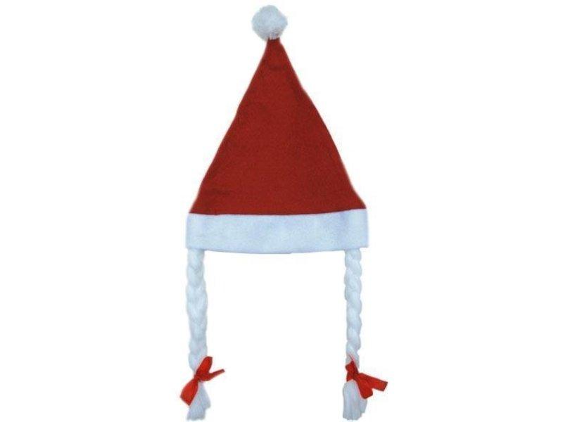 Kerstmuts + vlecht