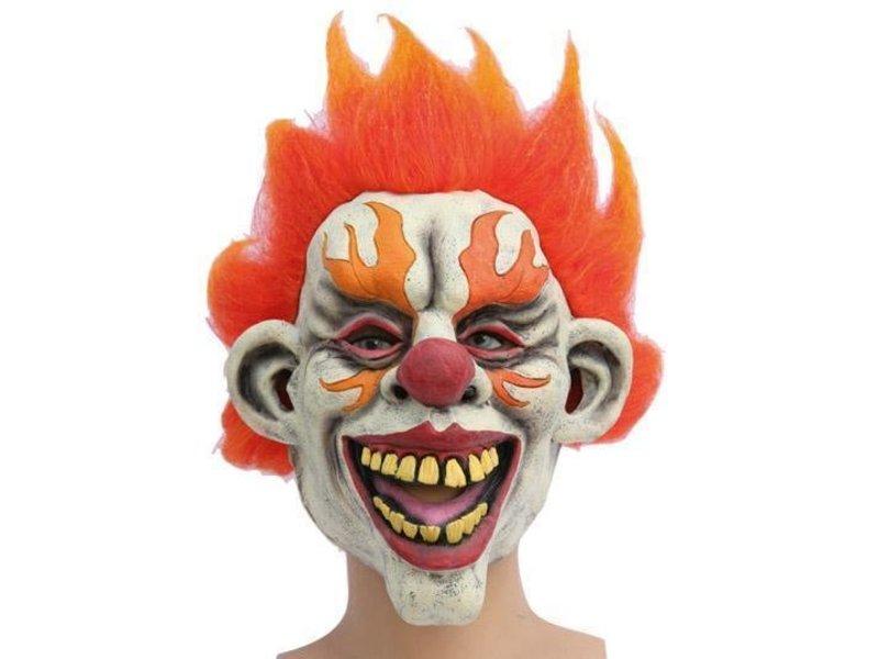 Mask Clown Flame