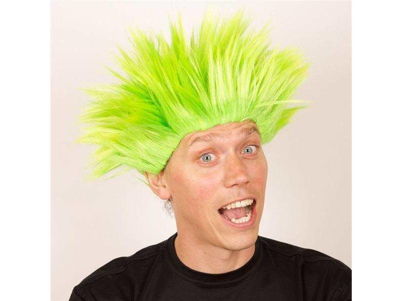 Wig Electric Shock green