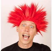 Wig Electric Shock red