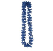 Collier Hawaiien Bleu