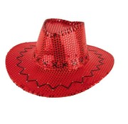 HOED COWBOY SEQUIN ROOD