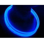 "Breaklight 22"" Glow Halskettingen Blauw"