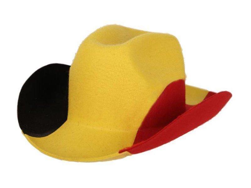 Hoed Vilt Cowboy Belgia«