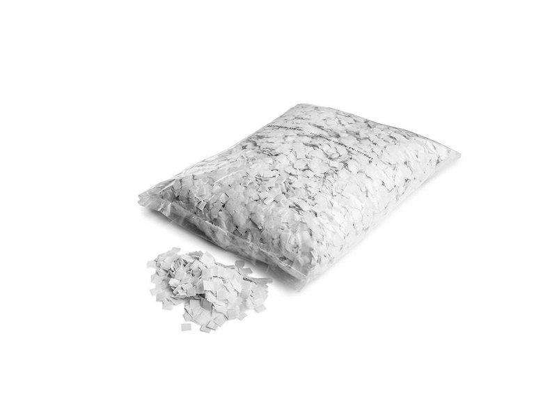 Magic Fx Slowfall sneeuw confetti 10x10mm - wit