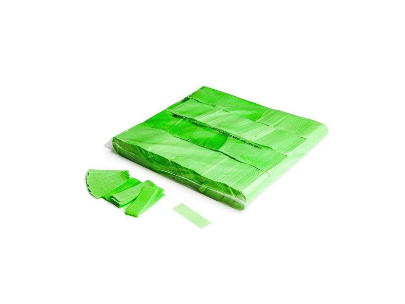 Magic Fx Slowfall UV confetti 55x17mm - Fluo Green