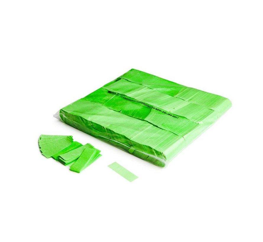 Slowfall UV confetti 55x17mm - Fluo Vert