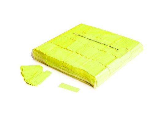Magic Fx Slowfall UV confetti 55x17mm - Fluo Yellow