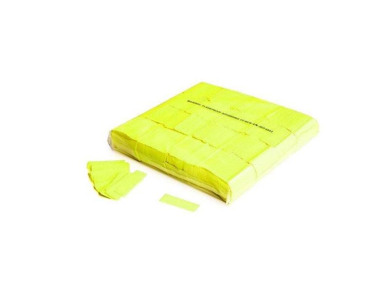 Magic Fx Slowfall UV confetti 55x17mm - Fluo Geel