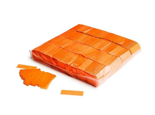 Magic Fx Slowfall UV confetti 55x17mm - Fluo Oranje