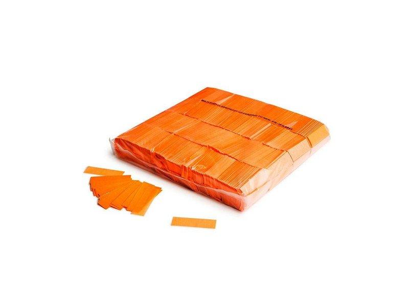 Magic Fx Slowfall UV confetti 55x17mm - Fluo Oranje