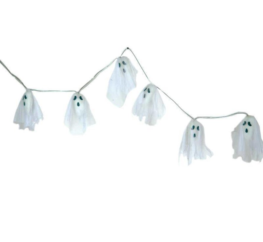 Deco Garland Ghost 170cm LED
