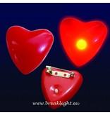 Breaklight Coeur clignotant Led