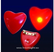 Breaklight Coeur clignotant Led