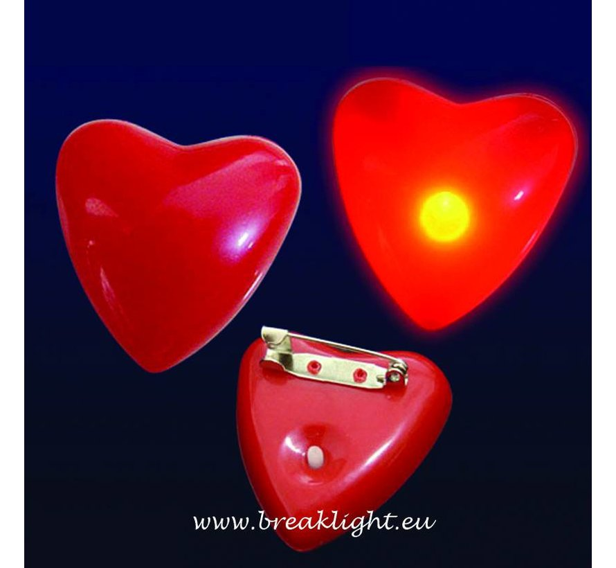 Flashing Led Heart