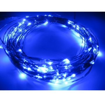 Breaklight HighBrite 40 Led Guirlande 2 m on battery - Bleue
