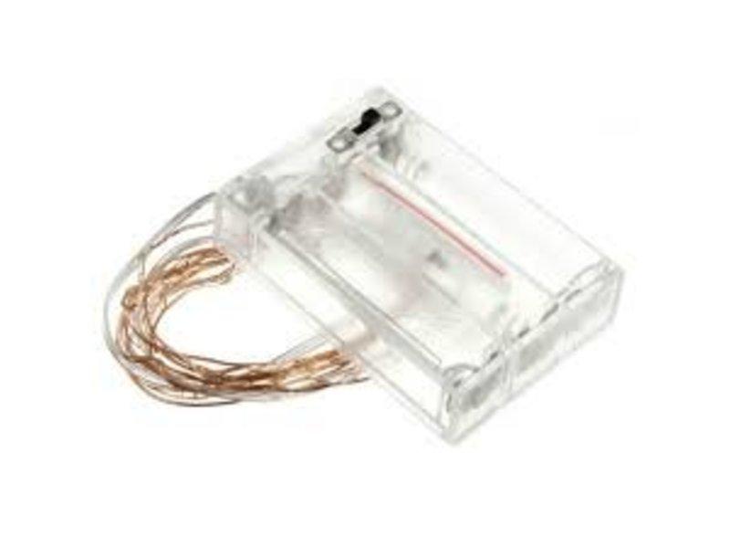 Breaklight HighBrite 40 Led Cord 2 m on battery - White