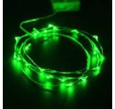 Breaklight HighBrite 40 Led Cord 2 m on battery - Green