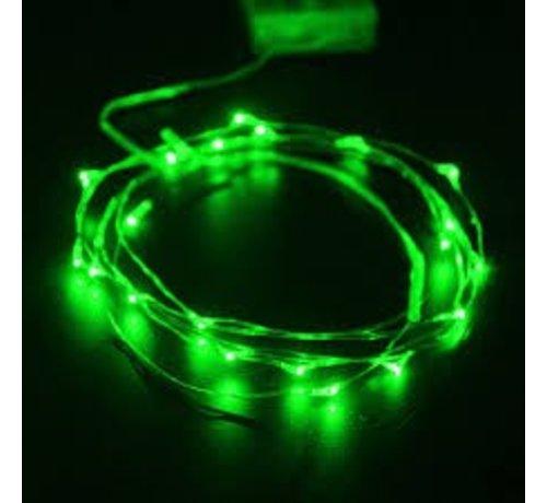 Breaklight HighBrite 40 Led Ketting 2 m op batterijen - Groen
