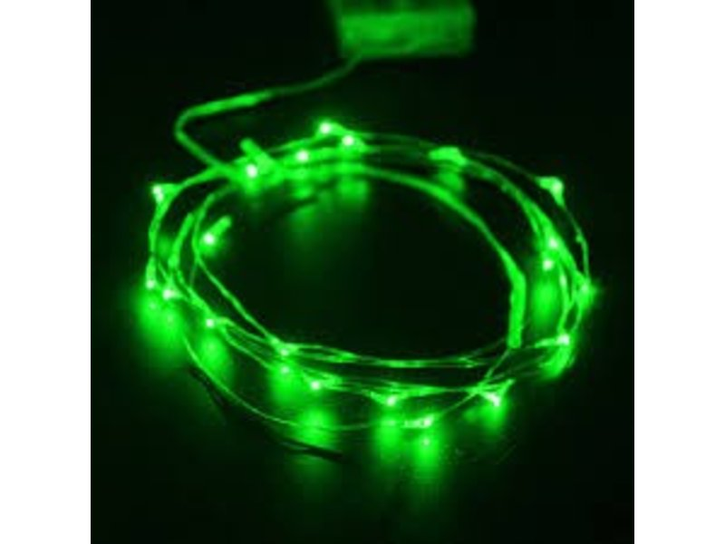Breaklight HighBrite 40 Led Ketting 2 m op batterijen - Groen