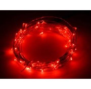 Breaklight HighBrite 40 Led Guirlande 2 m on battery - Rouge