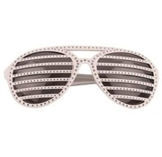 Disco Party Glasses Screen dots