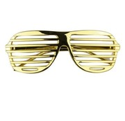 Disco Party Glasses Screen Gold