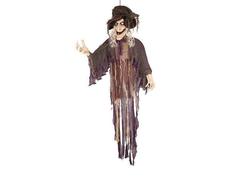 Deco Witch 180cm speaking