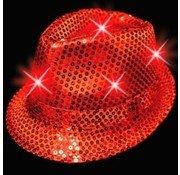 Led Hat Funk Red