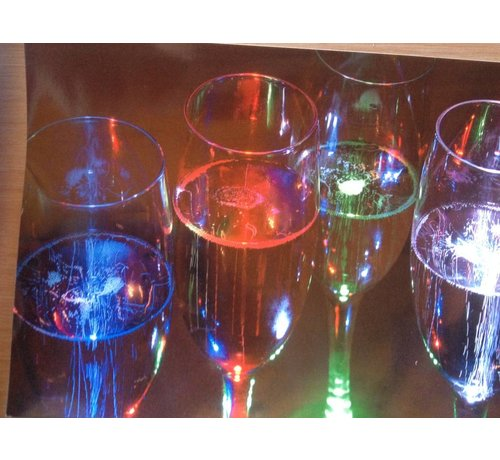 Breaklight Deluxe Led Champagne Glass ( set 4 pieces )