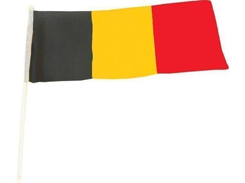 Vlag + Stok Belgie